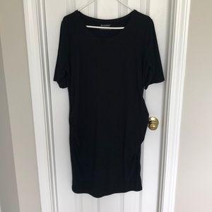 NWOT black maternity dress